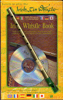 Learn To Play The Irish Tin Whistle DVD & Lesson Book