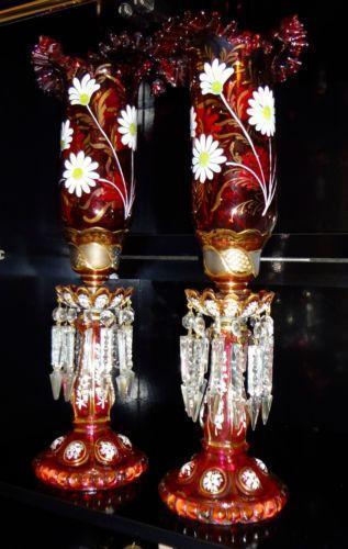Glass Lusters Ebay