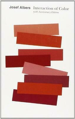 Interaction of Color by Josef Albers and Nicholas Fox Weber Paperback NEW Book