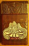 Tooled Leather Cigarette Case