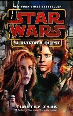 Star Wars: Survivor's Quest by Zahn, Timothy Paperback Book The Cheap Fast Free