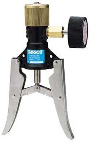 TRANSMATION 1098P Pressure Calibrator Pneumatic Pressure Pump -2 To 100 PSI
