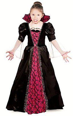 Vampir Kostüm Kinder Vampirkleid Kinder Halloween - Vampir Kostüm Mädchen 098120 ()