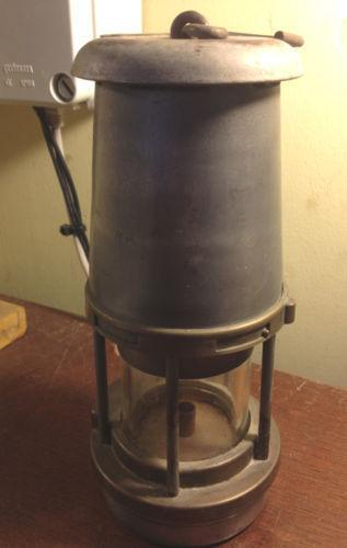 Old Miners Lamp Mining Ebay