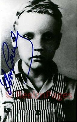 New Art Print of Autographed Very Rare Photo Elvis Presley As A Child  4