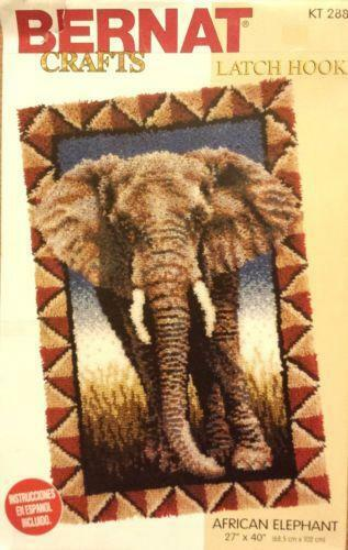 Elephant Latch Hook Rug Kits Uniquely Modern Rugs
