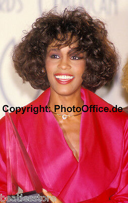 Whitney Houston in Los Angeles 'Music Awards' 1988, seltenes 30x45cm Foto Poster