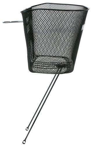 M-Wave Wire Bicycle Basket Black, 35x25x25/22 cm