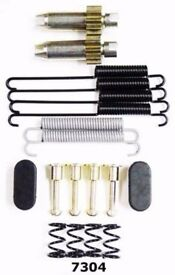 Parking Brake Hardware Kit Rear Better Brake 7304