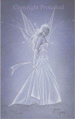 Jessica Galbreth Faery Fairy of Innocence Signed Print Limited Edition 11x17 HTF