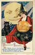Vintage Halloween Black Cat