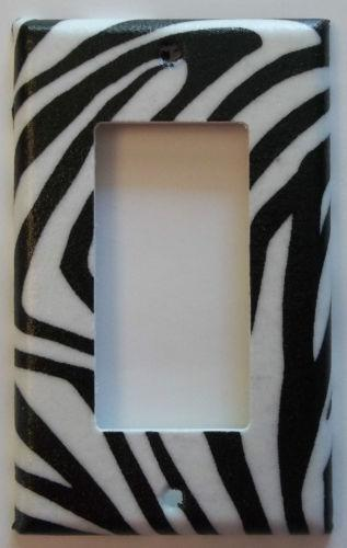 Zebra Print Bedroom Decors
