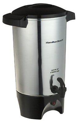 Coffee Beverage Dispenser Urn Percolator Maker Machine Server Hot Silver 42 Cup