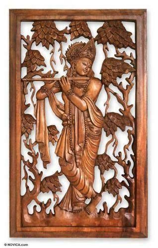 Relief wood carving ebay
