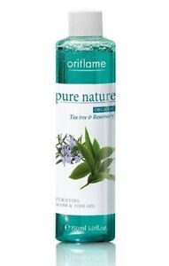 Oriflame-PurE-Nature-Organic-Tea-Tree-and-Rose-Mary-Purifing-Wash-Tone-Gel