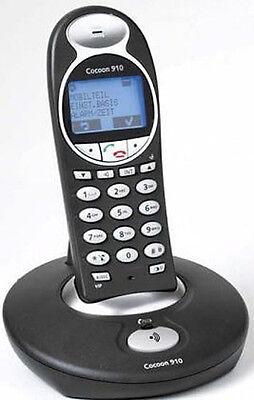 Ucom Cocoon 910 ++NEU++Schwarz++ Telefonbuch für 200 Nummern Freisprech Intern  - Interne Telefon