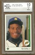 1989 Upper Deck Griffey BCCG 10