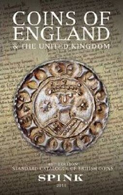 Coins of England & United Kingdom 46th Edition 2011 Spink Catalogue Book.