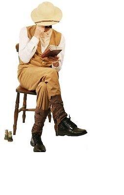World Book Day-Victorian-Chitt-Steampunk-Edwardian MENS POTTS Costume (Men's World Book Day Kostüm)