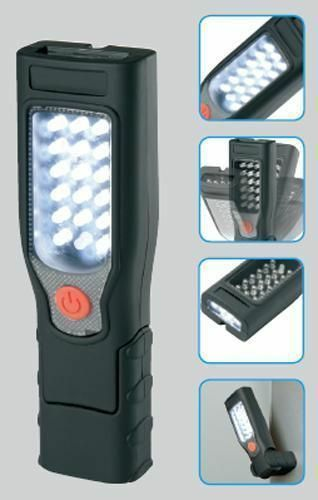 Ring Automotive 17+4 LED Inspection Lamp Torch Rechargeable Light Cordless RIL40