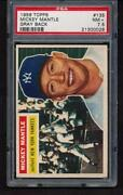 1956 Topps 135 Mickey Mantle