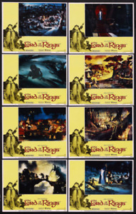 THE LORD OF THE RINGS orig 1978 lobby card set RALPH BAKSHI 11x1