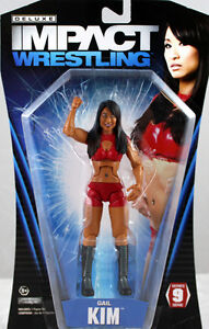 GAIL KIM - TNA DELUXE IMPACT 9 TOY WRESTLING ACTION FIGURE