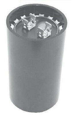 Motor Start Capacitor - AC Electrolytic 53-64UF 330VAC .250 Inch Quick Connect
