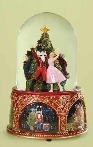 The Nutcracker Suite Ballet Musical Christmas 120mm Snow Water Globe 32072 New