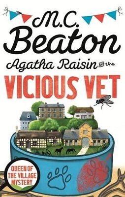 Agatha Raisin and the Vicious Vet, Beaton, M.C., New condition, Book for sale  Shipping to Ireland