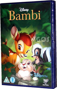Bambi Walt Disney Film Childrens Movie DVD (Same As Diamond Edition ) New Sealed