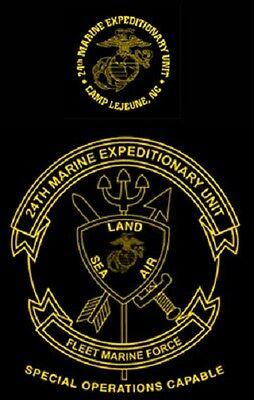 Marine Corps 24Th Marine Expeditionary Unit  Soc  Meu Usmc Camp Lejeune T Shirt