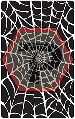 spider web 3 stencil for cerakote, gunkote, duracoat Avery paint mask sticky ](Sticky Web)
