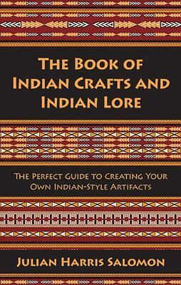 The Book of Indian Crafts & Indian Lore Book Native American Beaded Rug Wigwam