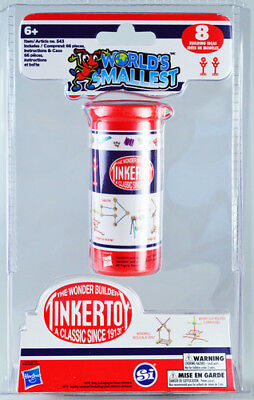 World's Smallest: Tinker Toys [New Toy] Toy