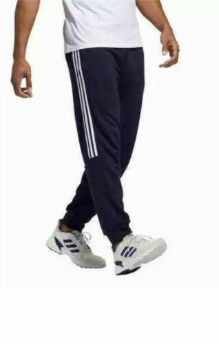 NWT Adidas Men's Neo French Terry 3 Stripe Jogger Sweat Pants Size M