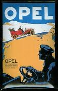 Opel Blechschild
