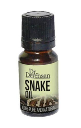 Pure, Natural Snake Oil (Anti Hair loss) Dr. Derehsan, 10 ml