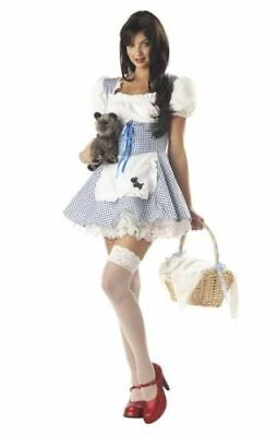 NWT Sexy Storybook Sweetheart DOROTHY Halloween Adult Costume - MEDIUM](Dorothy Halloween Costumes)