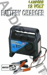 chargeur de batterie auto voiture neuf 4 amp 12v auto a volt 12 v ebay. Black Bedroom Furniture Sets. Home Design Ideas