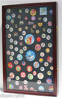 Large Shadow Box Frame for Pin Medal Display,  w/Fancy Glass Door,-PC04 Medal Shadow Boxes