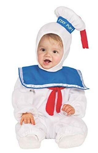 Rubie's Baby Classic Ghostbusters Ez-on Stay Puft Romper Cos