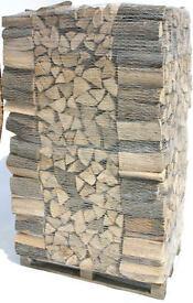 Kiln Dried Ash - Oak Logs 2 cubic meters (same as four ton bags)