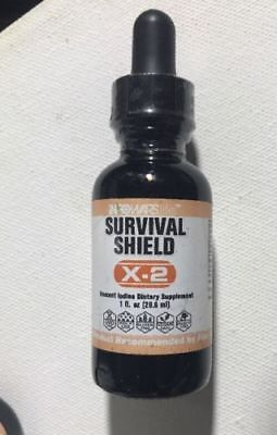 Infowars Life Survival Shield X 2 Nascent Iodine  Recommended By Alex Jones