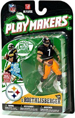 NFL Playmakers Ser1 Ben Roethlisberger Steelers 4in Action Figure McFarlane Toys