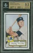 Mickey Mantle Topps Rookie Card