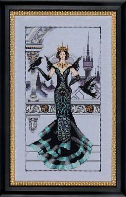 Mirabilia Cross Stitch Chart.MD139  The Raven Queen  Cheap S