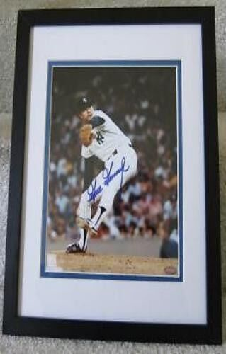 GOOSE GOOSAGE NEW YORK YANKEES Autographed framed  MOUNTED MEMORIES