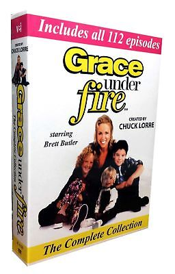 Grace Under Fire  The Complete Collection   Seasons 1 5  Dvd  2016  10 Disc Set