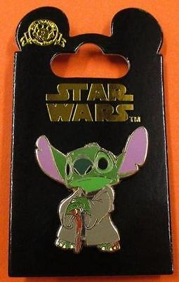 DISNEY PIN DLRP - Star Wars ~ Stitch as Yoda